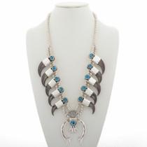 Navajo Bear Claw Necklace 27899