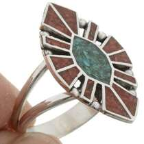 Inlaid Southwest Ring 27162