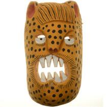 African Cheetah Tribal Mask 27635