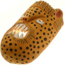 Hand Carved Cheetah Tribal Mask 27635
