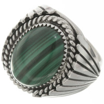 Navajo Malachite Big Boy Mens Ring 13420
