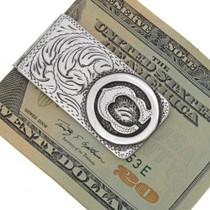 Initial Brand Money Clip 10959