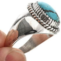 Native American Turquoise Mens Ring 29392