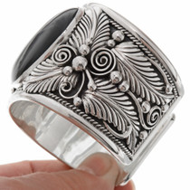 Navajo Handcrafted Wide Cuff 17363