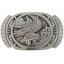 Eagle Kachina Silver Buckle 27364
