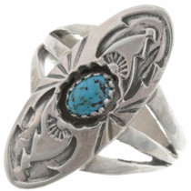 Turquoise Pointer Ring 27233