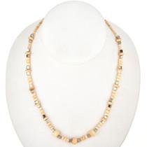 Bone Bead Silver Choker Tribal Necklace 29466