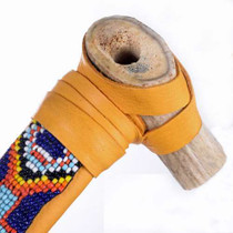 Smokable Deer Antler Bowl Pipe 24570