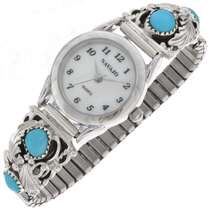 Ladies Turquoise Watch 23135