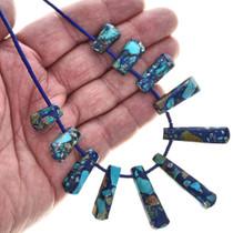 Jasper Fringe Colorful Necklace 29061