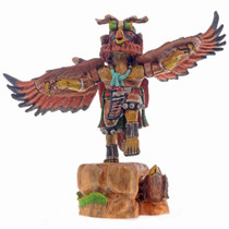 Red Tail Hawk Kachina 24585