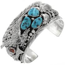 Turquoise Eagle big boy Bracelet 14861