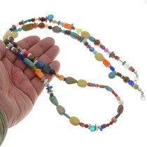 Native American Treasure Beaded Necklace 25887