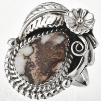 Silver Navajo Ladies Ring 29502