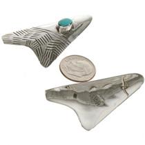 Hand Hammered Sterling Earrings 15135