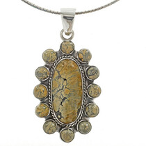 Turquoise Cluster Indian Pendant 27707
