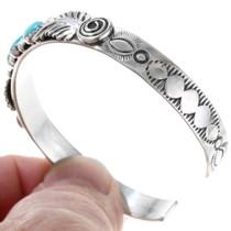 Ladies Turquoise Sterling Bracelet 27365