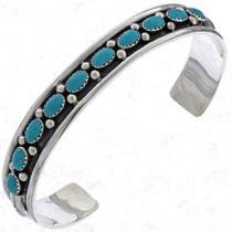Navajo Turquoise Cuff Bracelet 23565
