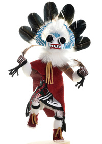 White Ogre Kachina Dolls 22049