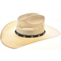 Turquoise Silver Hatband 19423