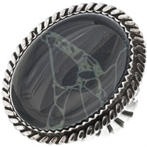 Navajo Spiderweb Sterling Ring 23570