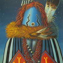 JC Black Navajo Dancer Limited Edition Print 16402