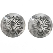 Man in the Maze Post Earrings 29280
