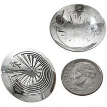 Silver Post Navajo Earrings 29280