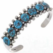 Turquoise Nugget Bracelet 25859