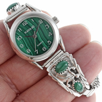 Navajo Malachite ladies Watch 24452