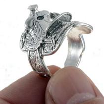 Cowboy Western  Saddle Ring 24757