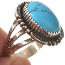 Ladies Blue Turquoise Ring 28734