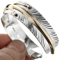 Southwest Feather Cuff Bracelet 23581