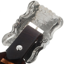 Hammered Silver Concho Belt 28949