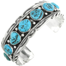 Turquoise Silver Cuff 22480