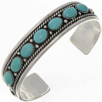 Turquoise Row Cuff 17308