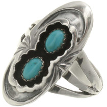 Kingman Turquoise Ladies Ring 26688