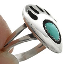Turquoise Silver Ladies Ring 29801