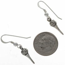 Novelty Golf French Hook Earrings 23640