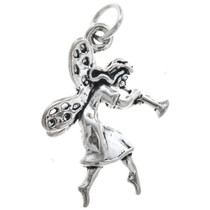 Sterling Silver Fairy Charm 35420