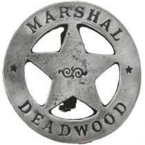 Deadwood Marshal Silver Badge 29184