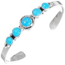 Kingman Turquoise Row Bracelet 26534