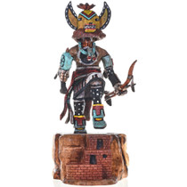 Fox Kachina Doll
