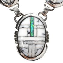 Crazy Horse Howlite Southwest Necklace 29625