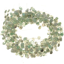 8mm x 12mm Fluorite Beads 16 inch Long Strand
