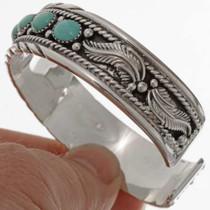 Navajo Sterling Silver Bracelet 17723