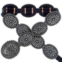 Native American Concho Belt 22678