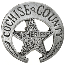 Cochise County Sheriff Badge 29197