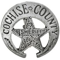 Cochise County Sheriff Badge 29197