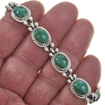 Green Malachite Southwest Bracelet 29093